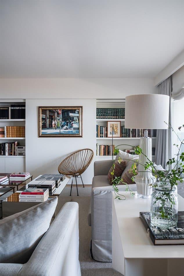 Estudio María Santos Reforma integral y decoración de vivienda mediterránea marbella salón