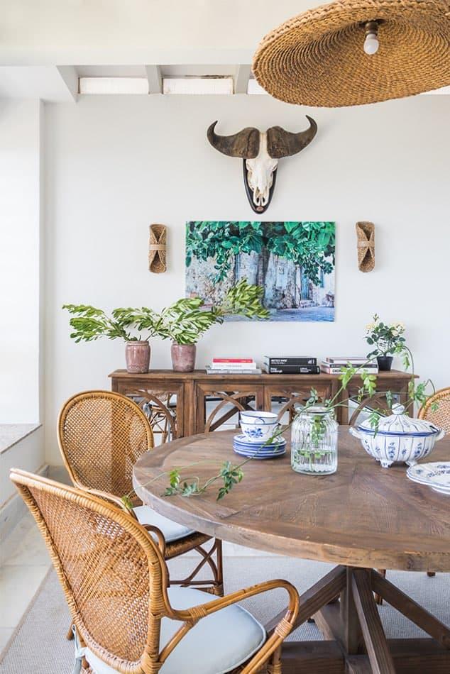Estudio María Santos Reforma integral y decoración de vivienda mediterránea marbella terraza