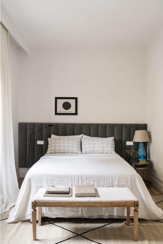 Estudio María Santos Reforma integral y decoración de vivienda minimalista Madrid cuarto