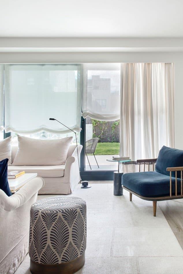 Estudio María Santos Reforma integral y decoración de vivienda minimalista Madrid