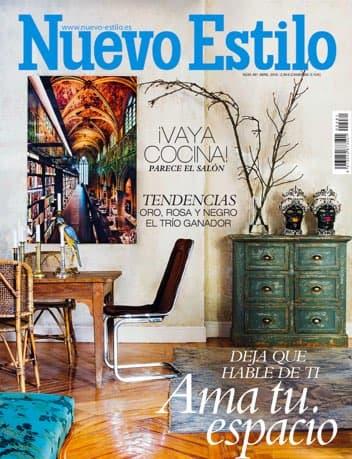Estudio Maria Santos Arquitectura minimalista reforma integral y decoración Revista Nuevo Estilo Abril 2018
