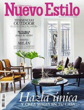 Estudio Maria Santos Arquitectura minimalista reforma integral y decoración Revista Nuevo Estilo Mayo 2017