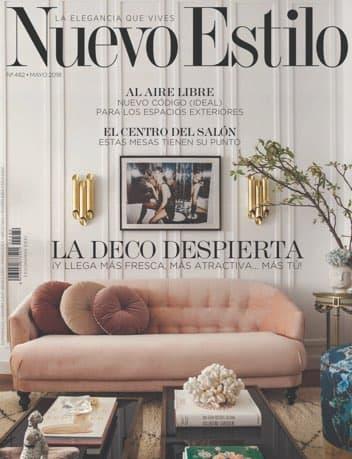 Estudio Maria Santos Arquitectura minimalista reforma integral y decoración Revista Nuevo Estilo Mayo 2018