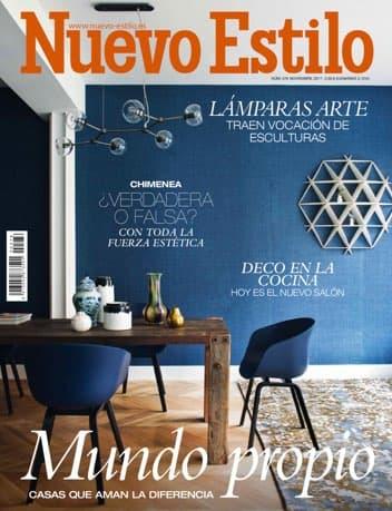 Estudio Maria Santos Arquitectura minimalista reforma integral y decoración Revista Nuevo Estilo Noviembre 2017