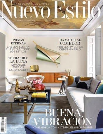Estudio Maria Santos Arquitectura minimalista reforma integral y decoración Revista Nuevo Estilo Diciembre 2019