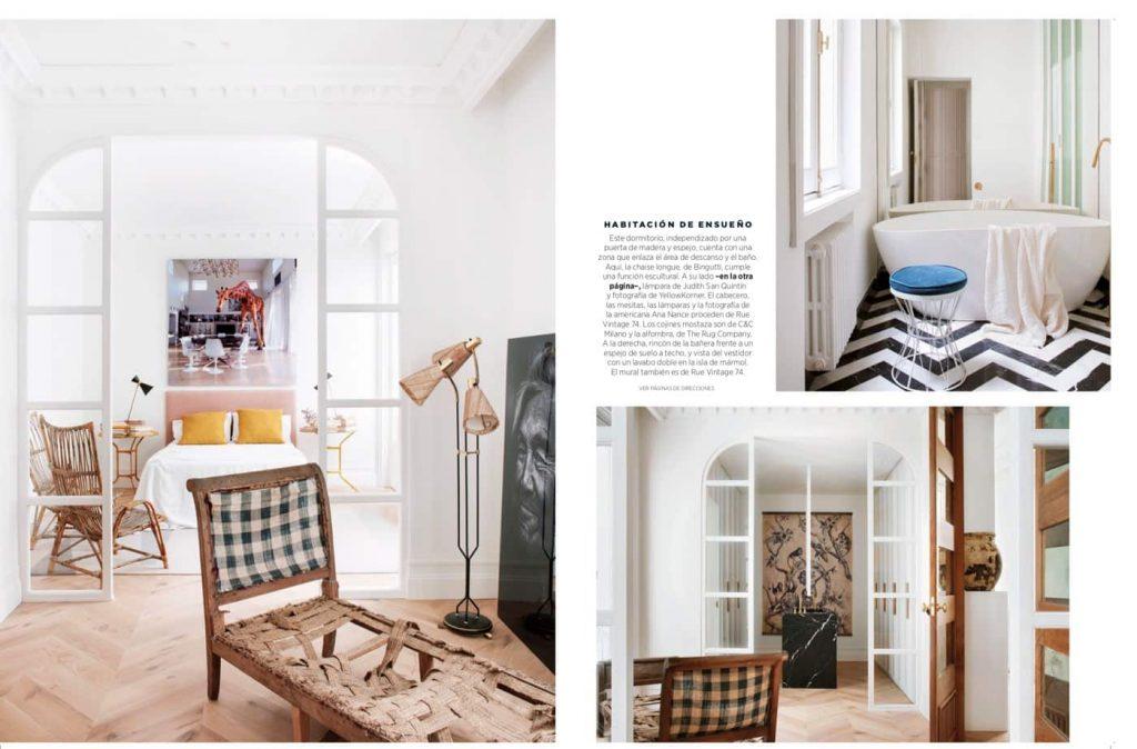 Estudio María Santos Reforma integral y decoración de vivienda minimalista Revista Nuevo Estilo Junio 2019