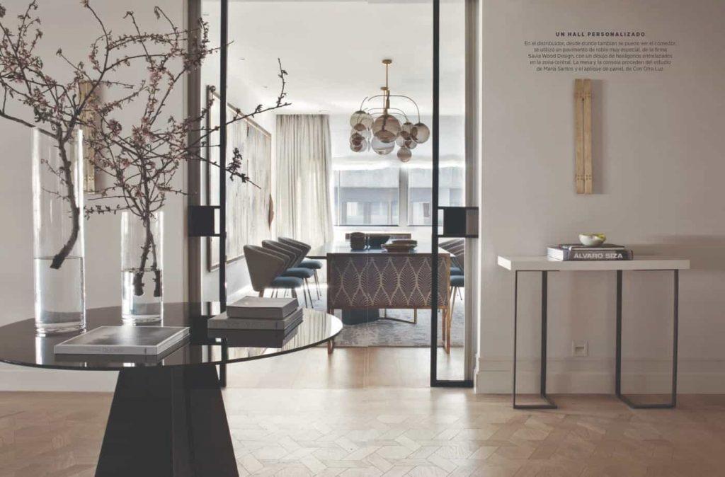 Estudio María Santos Reforma integral y decoración de vivienda minimalista Revista Nuevo Estilo Mayo 2018 Carta Blanca