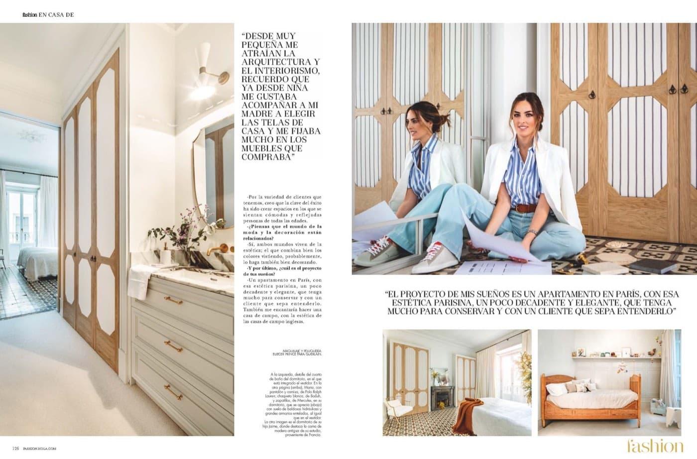 Revista Hola Marzo 2020 Estudio Maria Santos