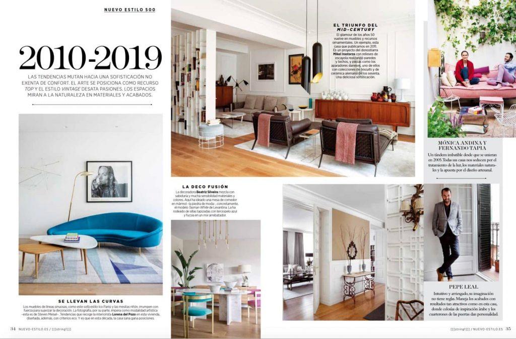 Revista Nuevo Estilo Diciembre enero 2020