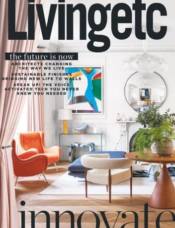Revista cover Living Etc Abril 2020